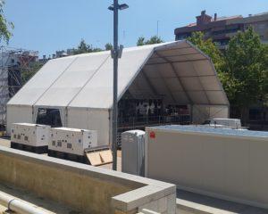 Carpa - Pabellon Poligonal Concierto Mataró2-min
